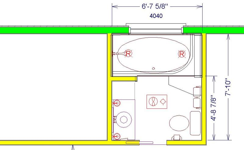 28 8x8 bathroom floor plan flodingresort 8x8 for Bathroom designs 8x8