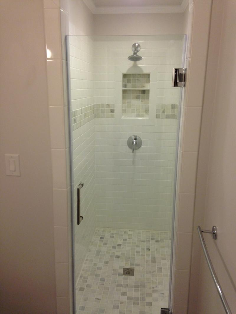 "3\8"" Shower Door"