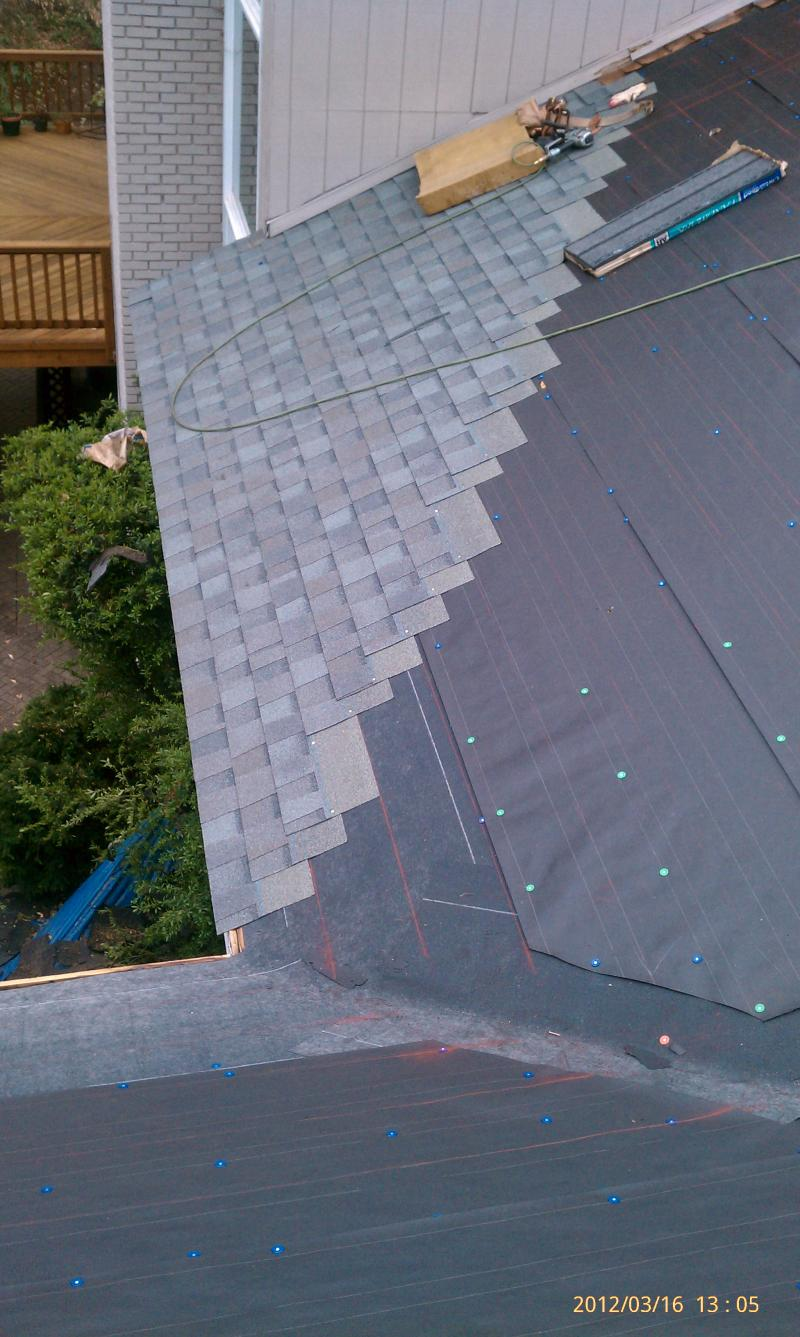 Rooofing with Architectural Shingles