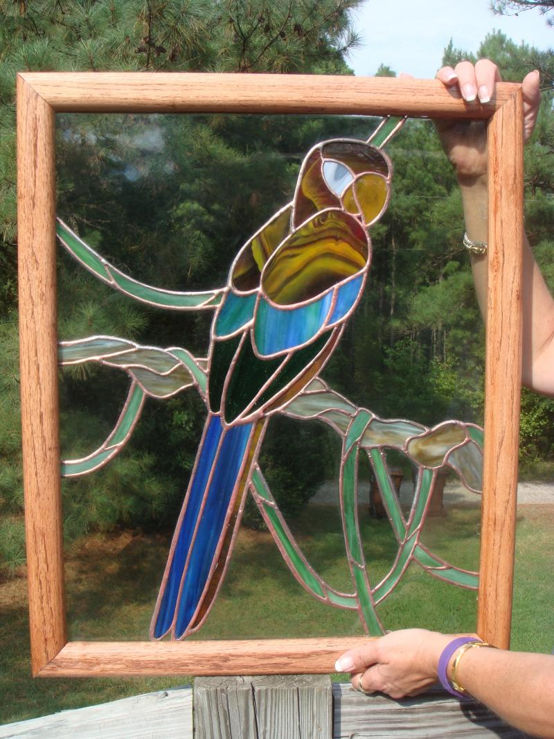 Recent projects - Parrot panel